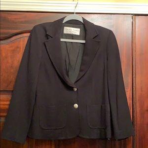 Trina Turk stretch jersey blazer